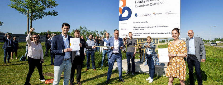 The Netherlands builds national headquarters for quantum in Delft